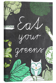 Canvas print  Eat your greens - GreenNest