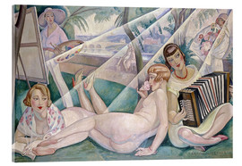 Acrylic glass  A summer day - Gerda Wegener