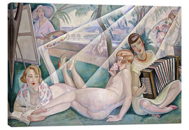 Canvas print  A summer day - Gerda Wegener
