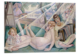 Foam board print  A summer day - Gerda Wegener