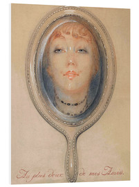 Foam board print  To the sweetest of my friends - Gerda Wegener