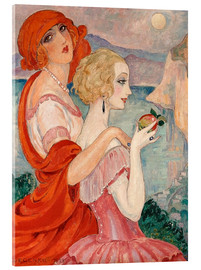 Acrylic print  On the road to Anacapri - Gerda Wegener