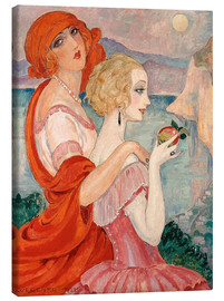 Canvas print  On the road to Anacapri - Gerda Wegener