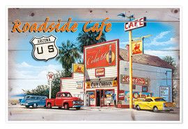 Premium poster Arizona Roadside Cafe