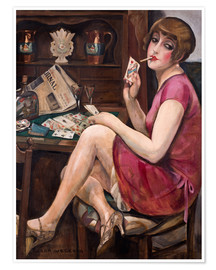 Premium poster  Queen of the Hearts - Gerda Wegener