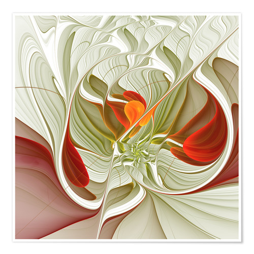 Premium poster Fractal Bring Color Into Your Life