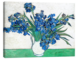 Canvas print  Irises - Vincent van Gogh