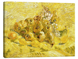 Canvas print  Quinces, Lemons, Pears and Grapes - Vincent van Gogh