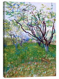 Canvas print  Orchard in Bloom - Vincent van Gogh