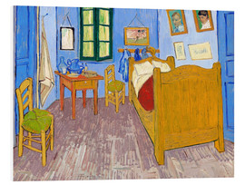 Foam board print  Vincent's bedroom, Arles - Vincent van Gogh