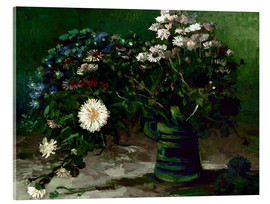 Acrylic glass  Bouquet of Daisies - Vincent van Gogh