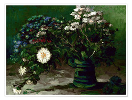 Premium poster Bouquet of Daisies