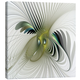 Canvas print  Fractal Have A Look - gabiw Art