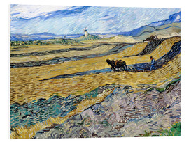 Forex  Enclosed Field with Ploughman - Vincent van Gogh