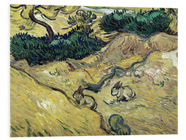 Forex  Field with Two Rabbits - Vincent van Gogh