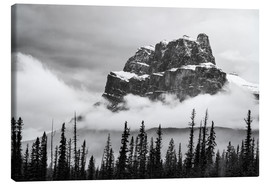 Canvas  Castle Mountain - Andreas Kossmann