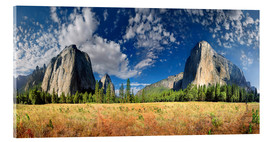 Acrylic print  Yosemite Valley - El Capitan - Michael Rucker