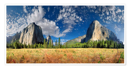Premium poster  Yosemite Valley - El Capitan - Michael Rucker