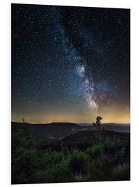 Foam board print  Milky Way over Black Forest - Andreas Wonisch