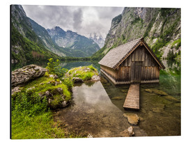 Andreas Wonisch - Lonely Hut at Obersee / Königssee