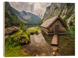 Wood  Lonely Hut at Obersee / Königssee - Andreas Wonisch