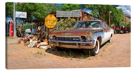 Canvas print  Route66- Old Chevrolet Impala - Michael Rucker