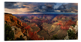 Acrylic glass  Grand Canyon View - Michael Rucker