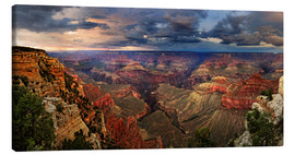 Canvas print  Grand Canyon View - Michael Rucker