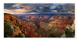 Premium poster Grand Canyon View