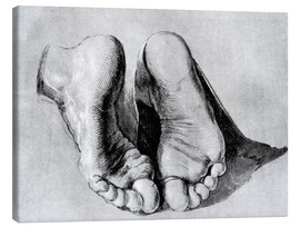 Canvas print  Feet of an apostle - Albrecht Dürer