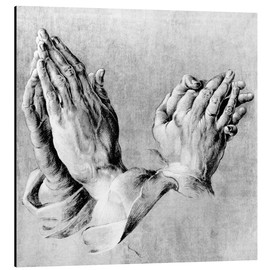 Aluminium print  Hands of the Pope and an apostle - Albrecht Dürer