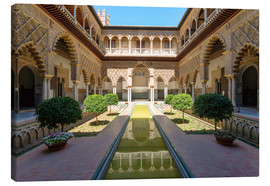 Canvas print  Court of the virgins in the Alcazar - Matteo Colombo