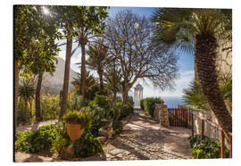 Aluminium print  In the garden of Son Marroig (Mallorca, Spain) - Christian Müringer