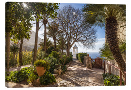 Canvas print  In the garden of Son Marroig (Mallorca, Spain) - Christian Müringer