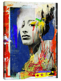 Canvas print  For ever and ever - Sandrine Pagnoux