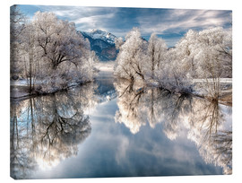 Canvas print  Winter Magic  - Bavaria - Germany - Achim Thomae