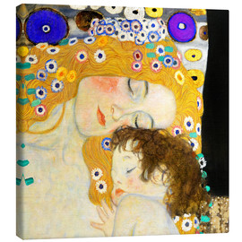 Canvas  Mother with child - Gustav Klimt