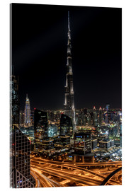 Acrylic print  Dubai Skyline - United Arab Emirates - Achim Thomae