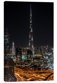 Canvas  Dubai Skyline - United Arab Emirates - Achim Thomae