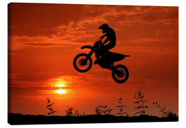 Canvas  motocross - Filtergrafia