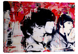 Canvas print  The Beatles - Michiel Folkers
