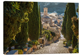 Canvas print  Pilgrims path in Pollenca (Mallorca) - Christian Müringer