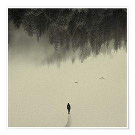 Poster  Silent Walk - Andreas Lie
