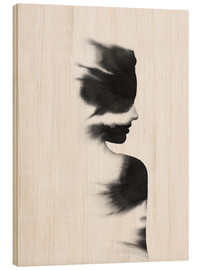 Wood print  Love - Andreas Lie