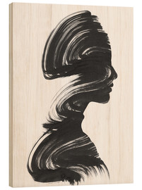 Wood print  See - Andreas Lie