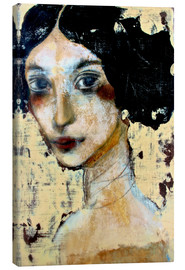 Canvas  WOMAN WITH BLACK HAIR - RAR Kramer