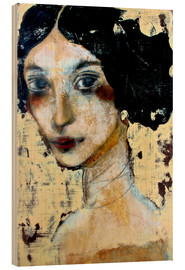 Wood  WOMAN WITH BLACK HAIR - RAR Kramer