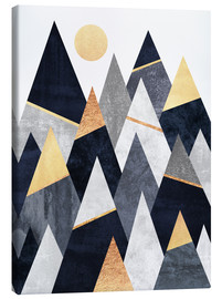 Canvas print  Fancy mountains - Elisabeth Fredriksson
