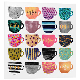 Forex  Pretty Coffee Cups - Elisabeth Fredriksson