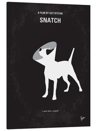 Alu-Dibond  No079 My Snatch minimal movie poster - chungkong